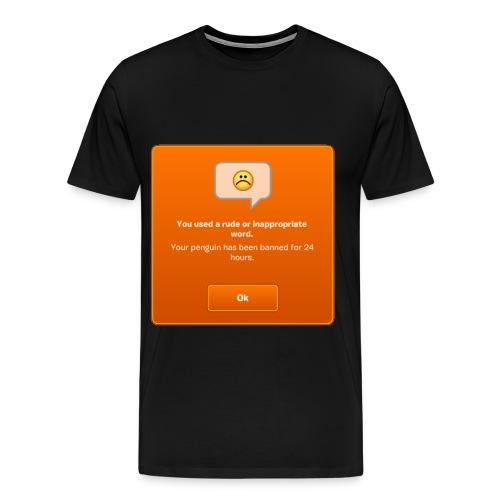Banned! - Men's T-Shirt - Men's Premium T-Shirt