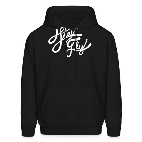 Stay Fly White - Men's Hoodie