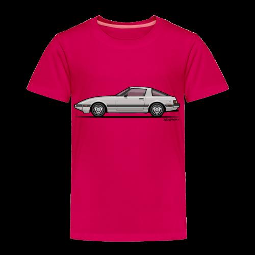Mazda RX-7 RB Savanna Sunbeam Silver - Toddler Premium T-Shirt