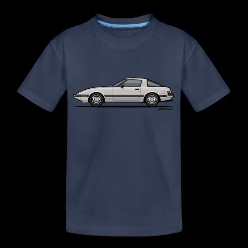 Mazda RX-7 RB Savanna Sunbeam Silver - Kids' Premium T-Shirt