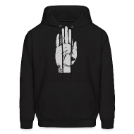 Hoodies ~ Men's Hoodie ~ Heart in Hand