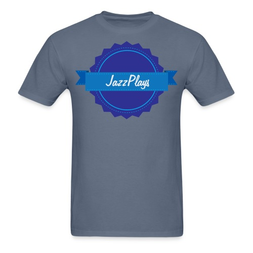 JazzPlays Emblem - Men's T-Shirt