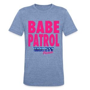 Babe Patrol American Apparel Unisex T-Shirt - Unisex Tri-Blend T-Shirt