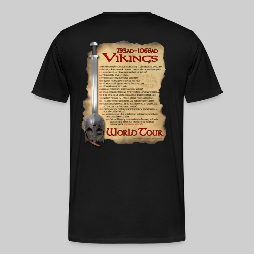 Viking World Tour 1 - Men's Premium T-Shirt