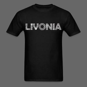Livonia Michigan Words - Men's T-Shirt
