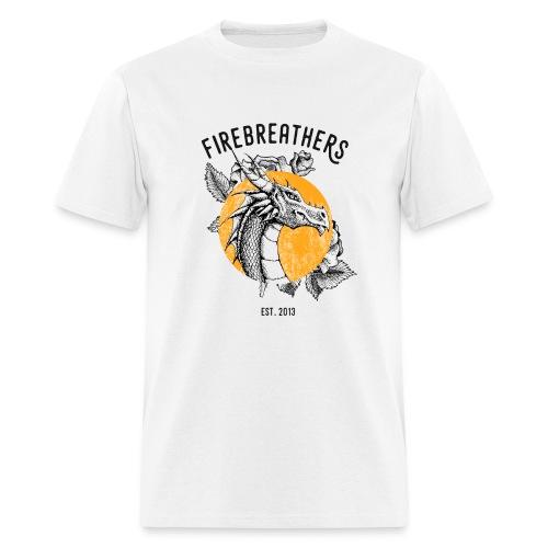 MEN'S WHITE Dan/Mac Reynolds 2017 Firebreathers Shirt - Men's T-Shirt