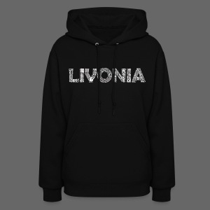 Livonia Michigan Words - Women's Hoodie