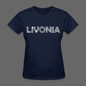 Livonia Michigan Words - Women's T-Shirt