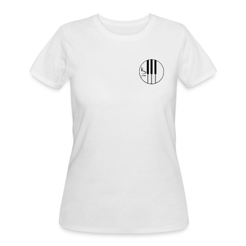 Kenzie Smith Piano (Upper Left Logo) Women's - Women's 50/50 T-Shirt