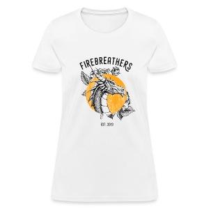 WOMEN'S WHITE Dan/Mac Reynolds 2017 Firebreathers Shirt - Women's T-Shirt