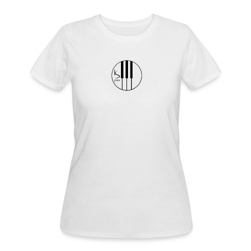 Kenzie Smith Piano (Center Logo) Women's - Women's 50/50 T-Shirt
