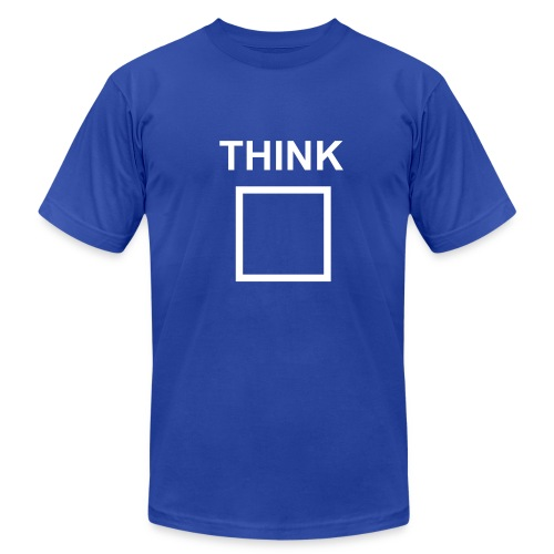 Think Outside the Box - Men's Fine Jersey T-Shirt