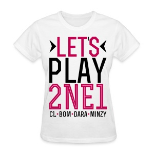 [2NE1] Let's Play 2NE1 - Women's T-Shirt
