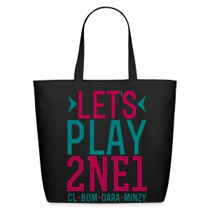 [2NE1] Let's Play 2NE1 - Eco-Friendly Cotton Tote
