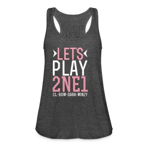 [2NE1] Let's Play 2NE1 - Women's Flowy Tank Top by Bella
