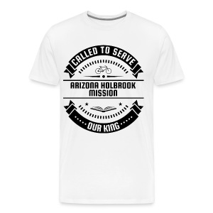 Arizona Holbrook Mission - Called To Serve - Black - Men's Premium T-Shirt