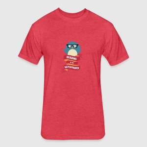 Reading is my Superpower S2g6d T-Shirts - Fitted Cotton/Poly T-Shirt by Next Level