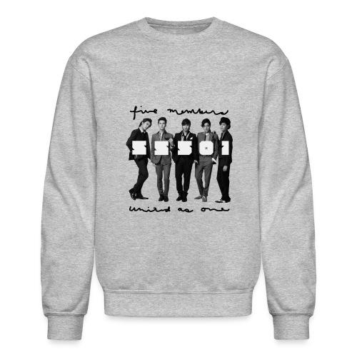 SS501 - Five Text Crewneck - Crewneck Sweatshirt