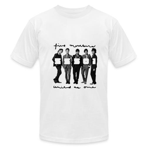 SS501 - Five Text AA Tee - Men's Fine Jersey T-Shirt
