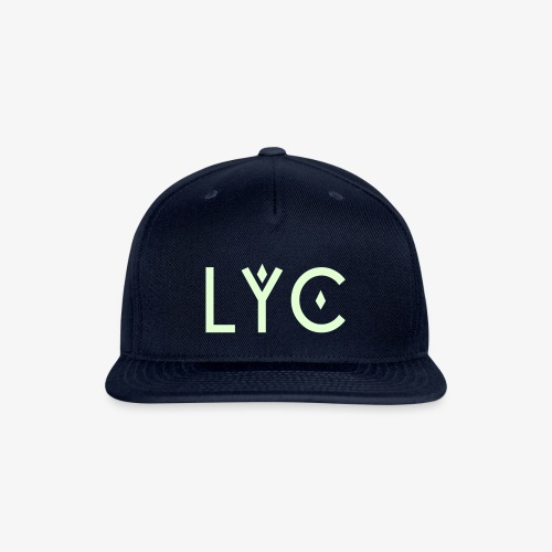 LYC Glow in the Dark SnapBack - Snap-back Baseball Cap