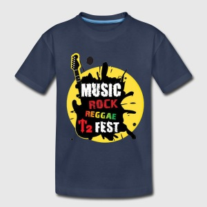 Music Rock Reggae - Kids' Premium T-Shirt