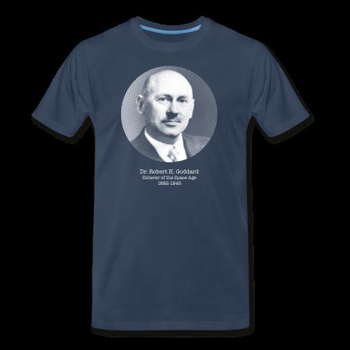 Robert H Goddard T-Shirt - Men's Premium T-Shirt