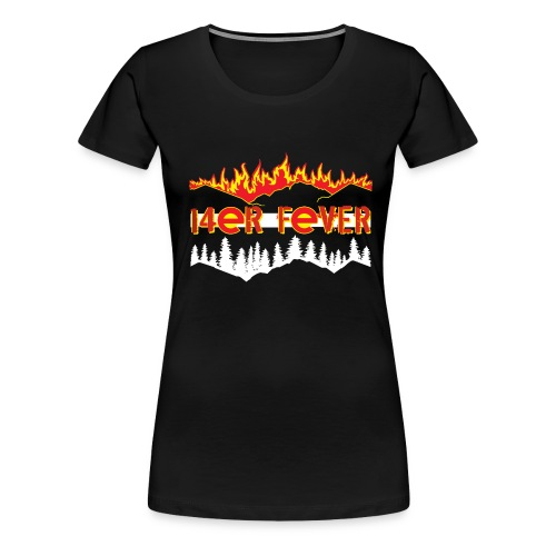 Women's Premium T-Shirt - mountains,hiking,fourteener,colorado,climbing,14er,14'ers