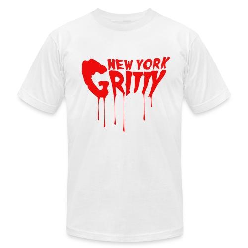 New York Gritty Men's Tee (Various Colors) - Men's Fine Jersey T-Shirt