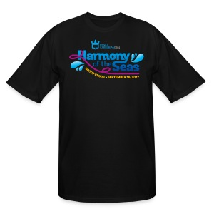 Men's Big & Tall Harmony of the Seas GC Shirt - Men's Tall T-Shirt