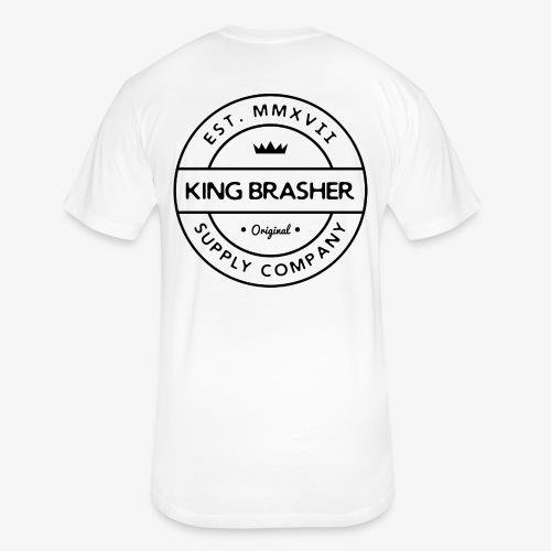 King Brasher Circle Up - Fitted Cotton/Poly T-Shirt by Next Level