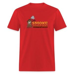 Smoke Wagon - Color Logo / Light Tee - Men's T-Shirt