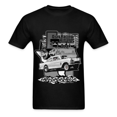 DRAG RACING VINTAGE TEXAS GASSERS - Men's T-Shirt