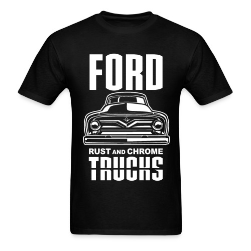 RUST AND CHROME TRUCKS FORD - Men's T-Shirt