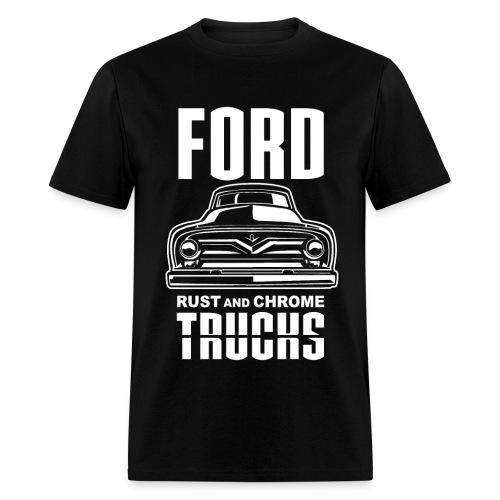 RUST AND CHROME TRUCKS FORD - Men's T-Shirt