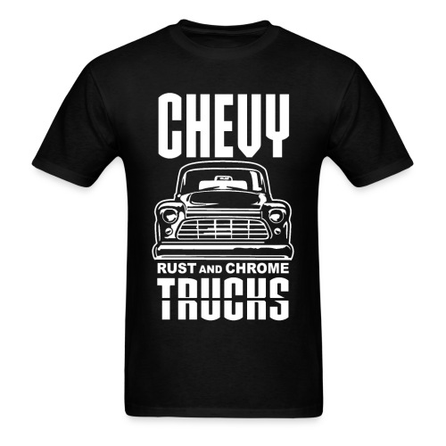 RUST AND CHROME TRUCKS CHEVY - Men's T-Shirt