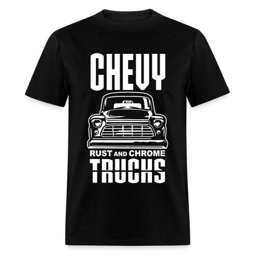 RUST AND CHROME TRUCKS CHEVY - Men's T-Shirt
