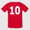 Team letter ten 10 - Kids' T-Shirt