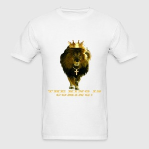 LION-The King Is Coming - Men's T-Shirt