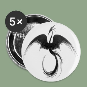 Beth Patterson - Black Swan Button - Small Buttons