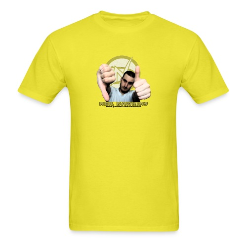 Neil Dawkins portrait tee (Colored) - Men's T-Shirt