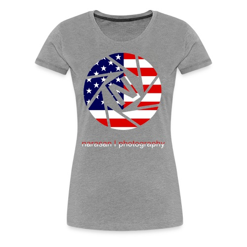 nsan usa prem W - Women's Premium T-Shirt