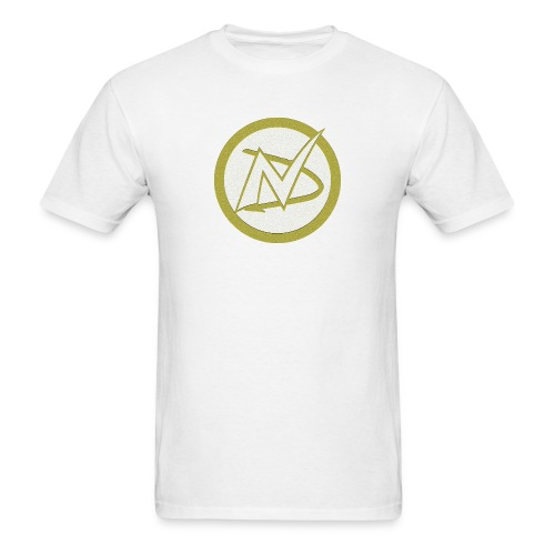 Neil Dawkins logo tee (White) - Men's T-Shirt