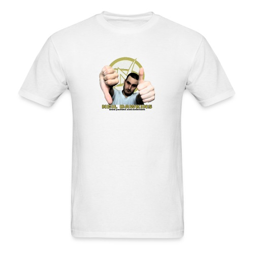 Neil Dawkins portrait tee (White) - Men's T-Shirt