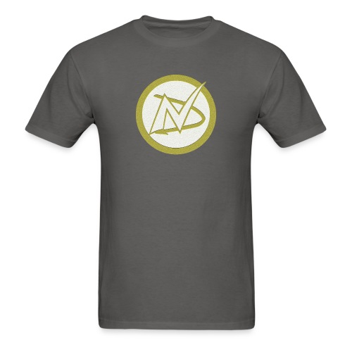 Neil Dawkins logo tee (Colored) - Men's T-Shirt