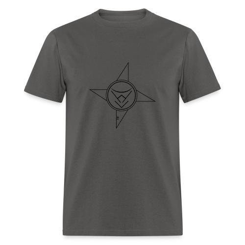 NinjaStarBlack - Men's T-Shirt