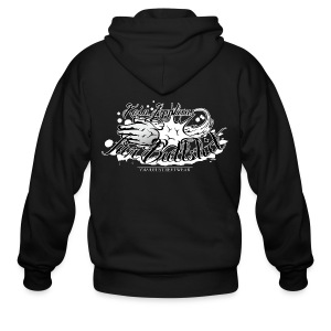 No applause for Bullshit - Men's Zip Hoodie