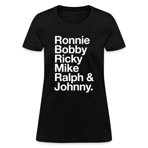All Six - Women's T-Shirt