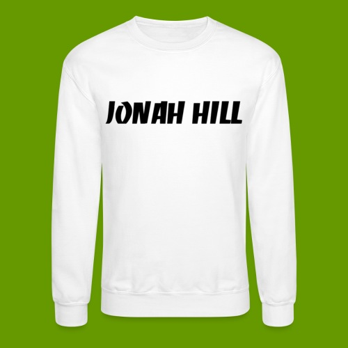 J0nah Hill White Crewneck Sweatshirt - Crewneck Sweatshirt