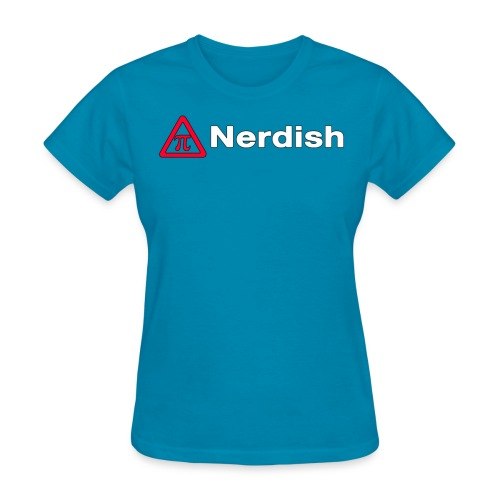 Nerdish Female Shirt - Women's T-Shirt