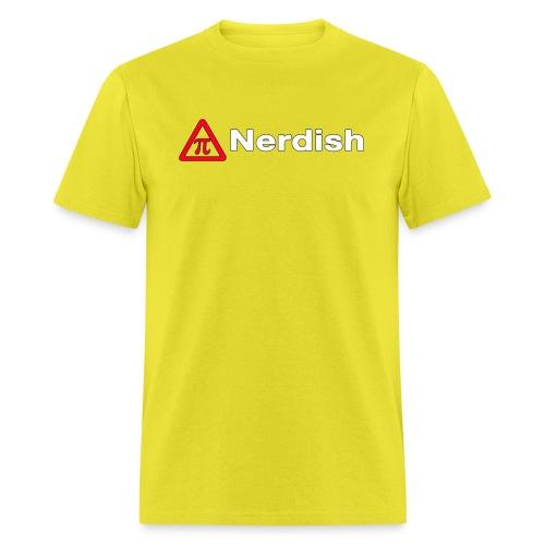 Nerdish Male Shirt - Men's T-Shirt